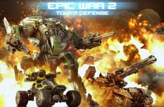 Epic War TD 2 sur iPhone et iPad