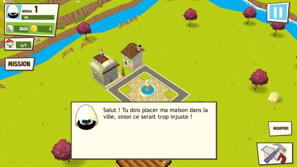 Le village de calimero test jeu iphone et ipad sur - Jeux de construire des maison ...
