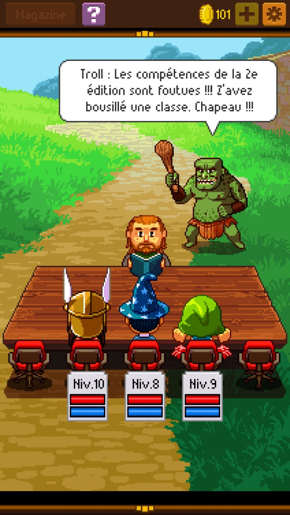 Knights Of Pen Paper 2 Test Jeu Android Sur