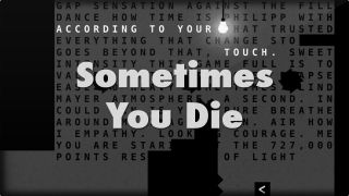 Sometimes You Die sur iPhone et iPad