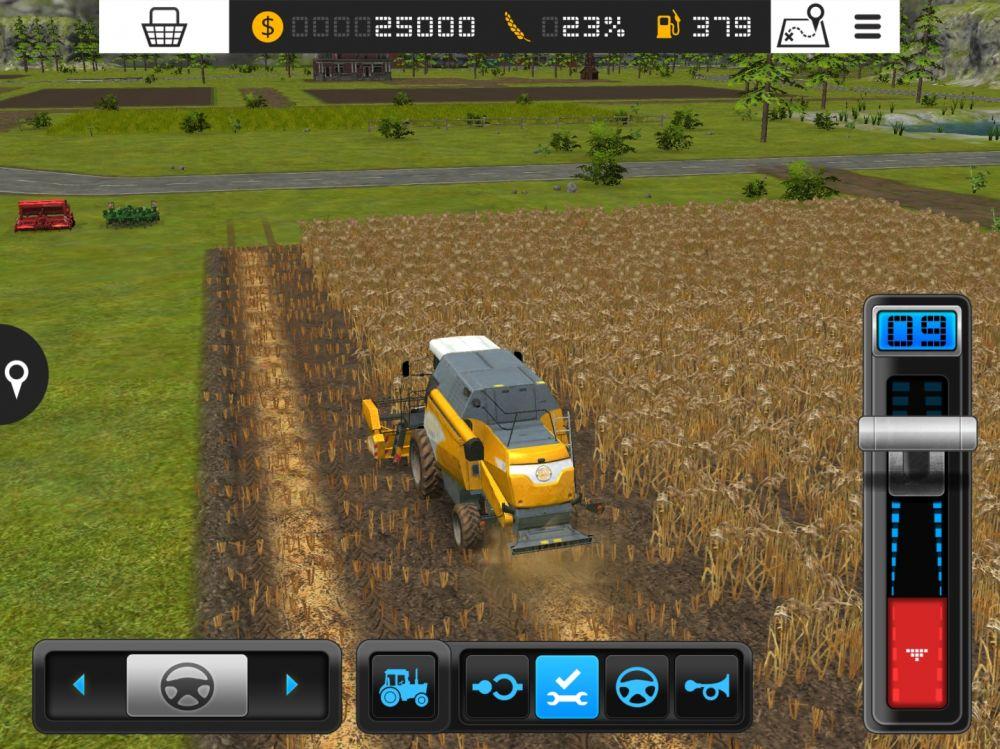 farming simulator 16 test jeu iphone et ipad sur. Black Bedroom Furniture Sets. Home Design Ideas