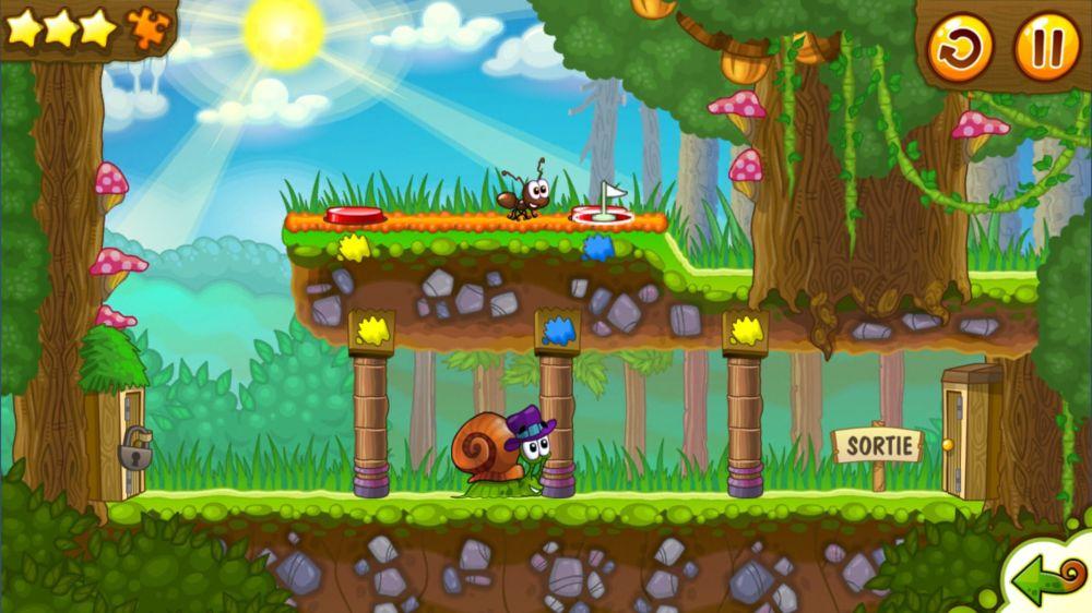 Bob l 39 escargot 2 snail bob 2 test jeu android sur - Bobe l escargot ...