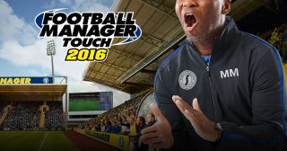 Football Manager Touch 2016 sur iPad