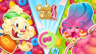 Candy Crush Jelly Saga sur iPhone et iPad