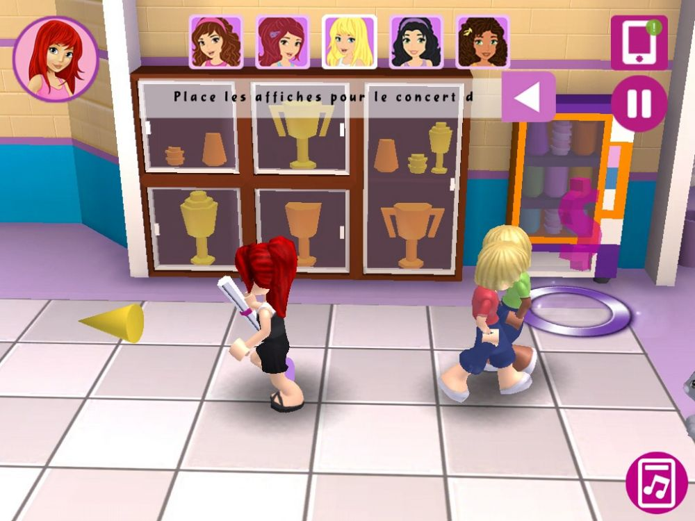 Lego friends test jeu android sur - Lego friends l ecole ...