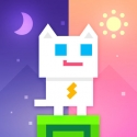 Voir le test iPhone / iPad de Super Phantom Cat - Be a jumpin bro.