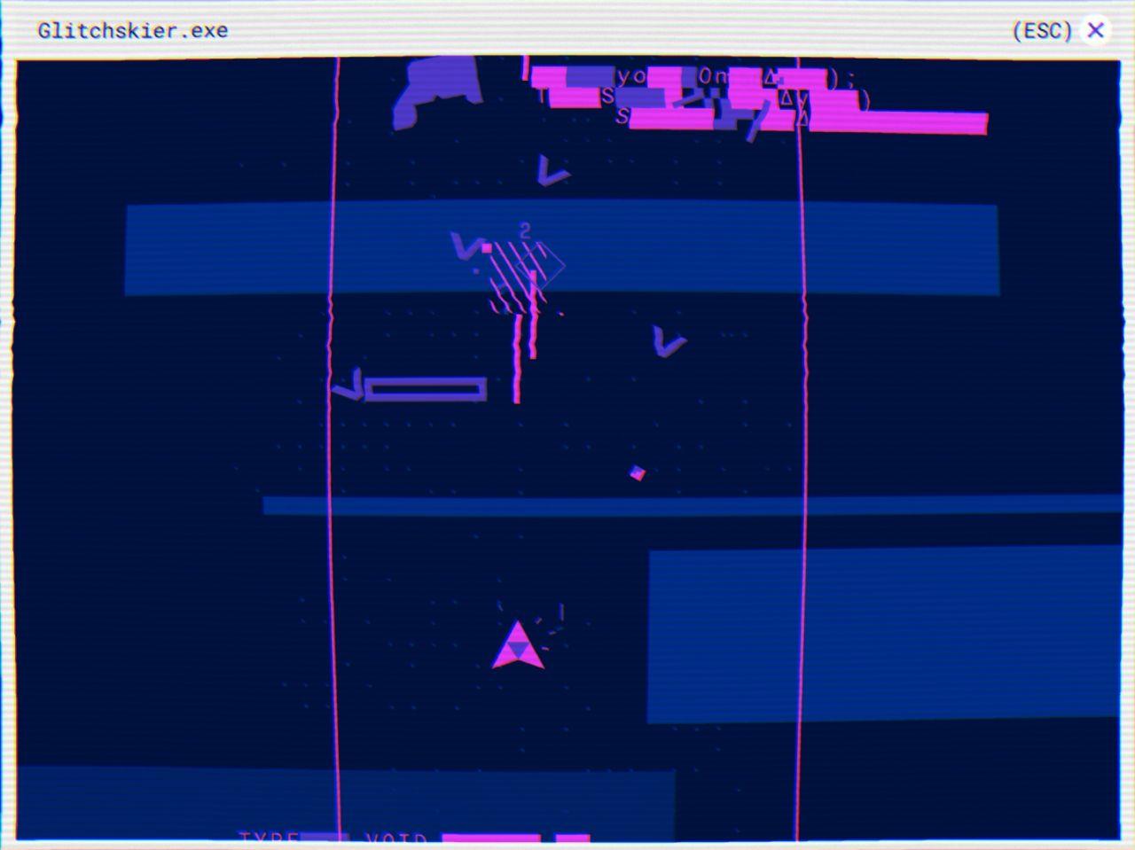 Glitchskier test jeu android sur for Copie ecran