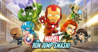 Marvel Run Jump Smash! sur iPhone et iPad