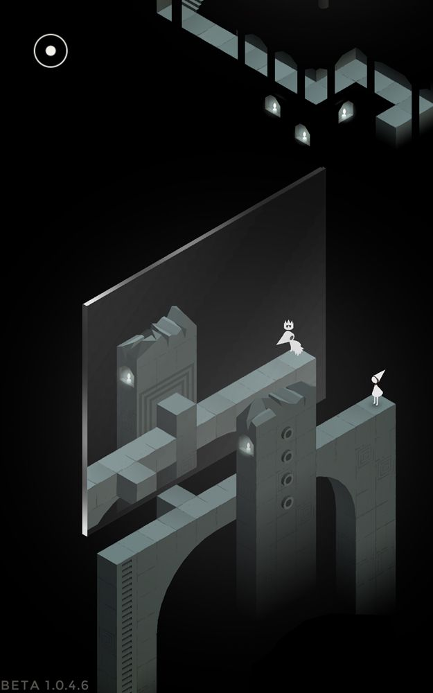 monument valley test jeu android sur. Black Bedroom Furniture Sets. Home Design Ideas