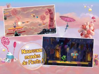 Rayman Fiesta Run sur Android, iPhone et iPad