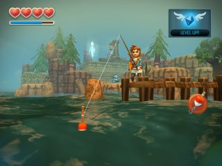 Oceanhorn Monster of the Uncharted Seas sur iPhone et iPad