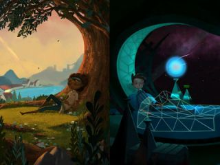 Broken Age de Double Fine sur iPad