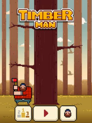 Timberman sur Android, iPhone et iPad