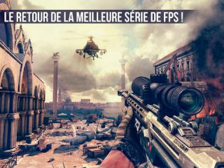 Modern Combat 5 Black Out sur Android, iPhone et iPad