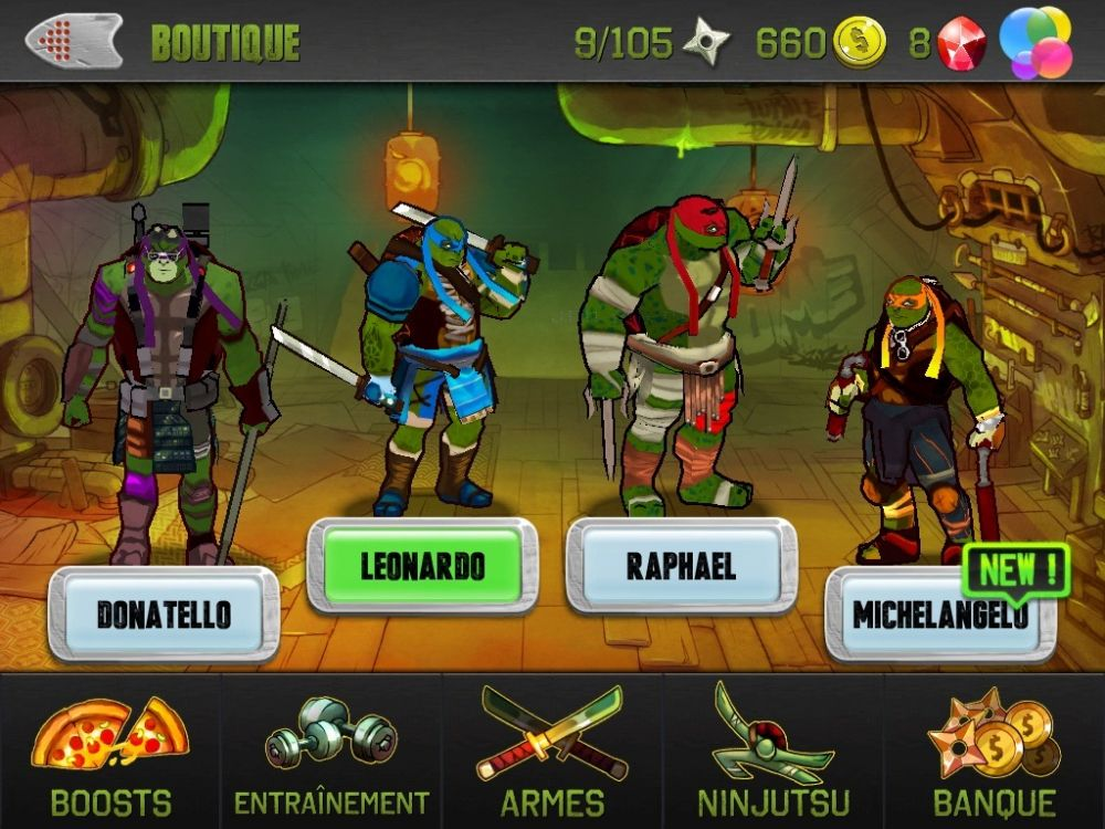 Ninja Turtles : Test Jeu Android Sur KickMyGeek.com