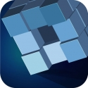 Test iOS (iPhone / iPad) Grey Cubes