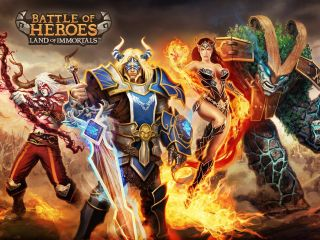 Battle of Heroes sur Android