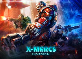 X-Mercs Invasion sur iPhone et iPad