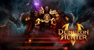 Dungeon Hunter 5 de Gameloft
